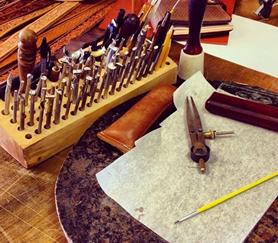 leather craft workshop